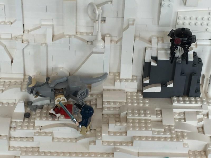 Lego Hoth scene, Armageddon Expo