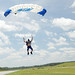 Skydiving Panama City 2020, Sonny's bare belly on landing 2