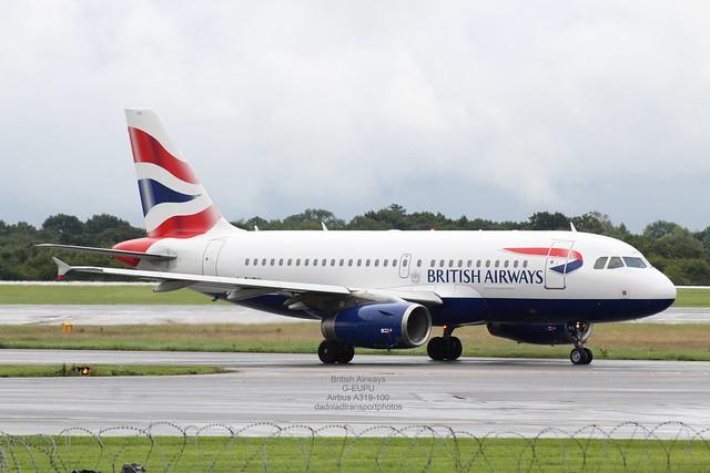 British Airways - G-EUPU