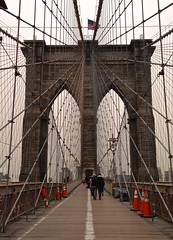 Brooklyn Bridge in the year 2014