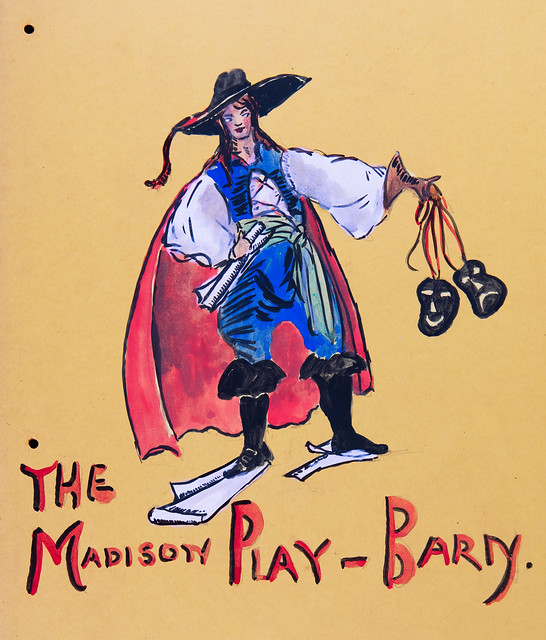 Poster - The Madison Play-Barn, 1920's