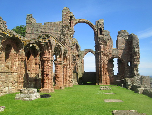 Lindisfarne Priory,Holy Island, National Trust
