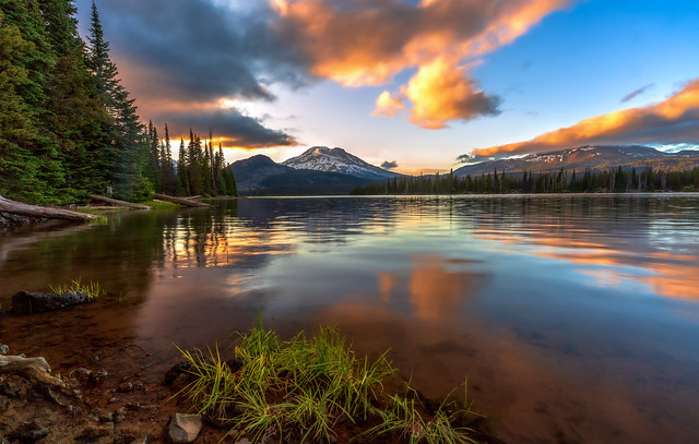 Cascade Lakes Sunset