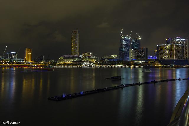 The views of Singapore Bay