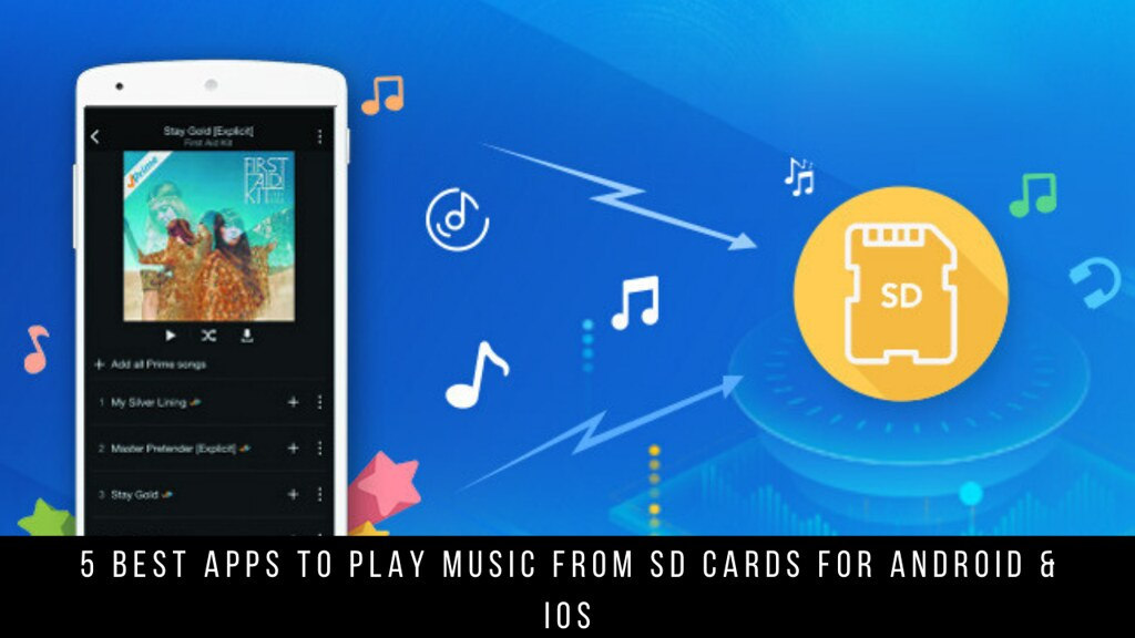 5 Best Apps To Play Music From SD Cards For Android & iOS