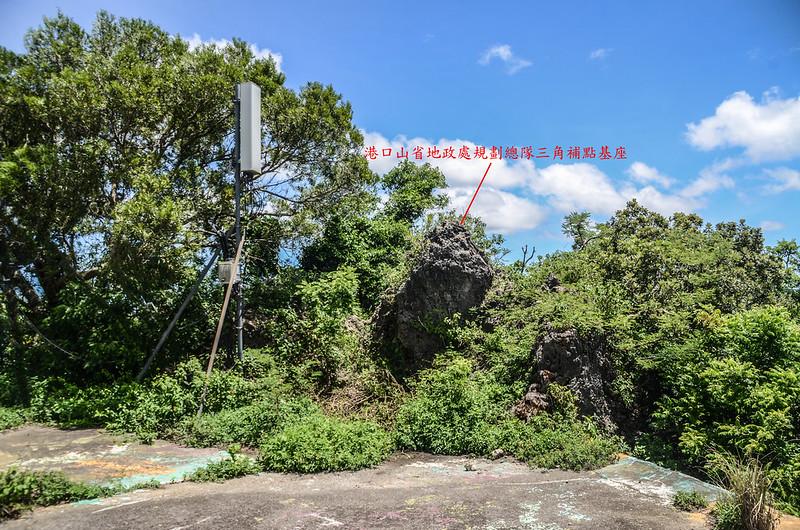 滿州-港口山省地政處規劃總隊三角補點基座點位