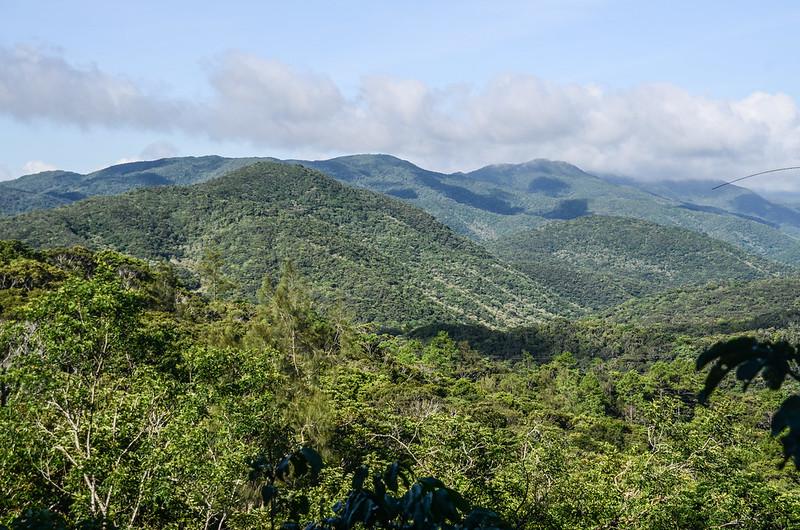 199縣道西望群山,左前為牡丹富士山 (1)