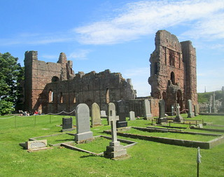 Lindisfarne Priory, Holy Island, National Trust | by piningforthewest
