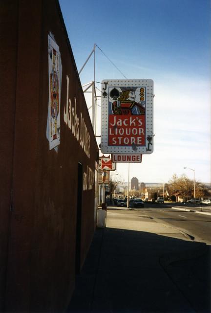 Jack's Liquor Store and Lounge Albuquerque NM January 1990