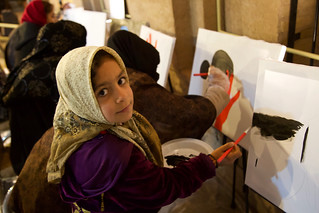 Women and girls at the Tools of Resistance Festival in Herat. | by UN Assistance Mission in Afghanistan