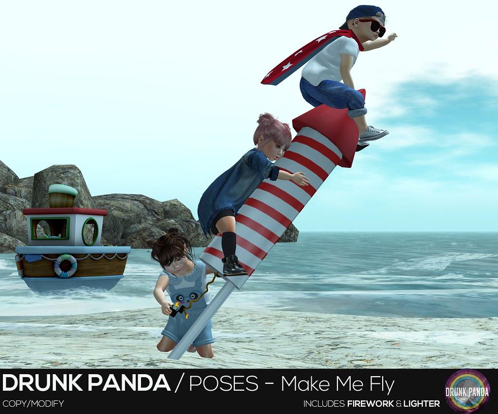 Drunk Panda - MakeMeFly