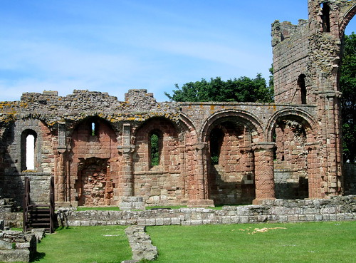 Lindisfarne Priory, Holy Island, English Heritage