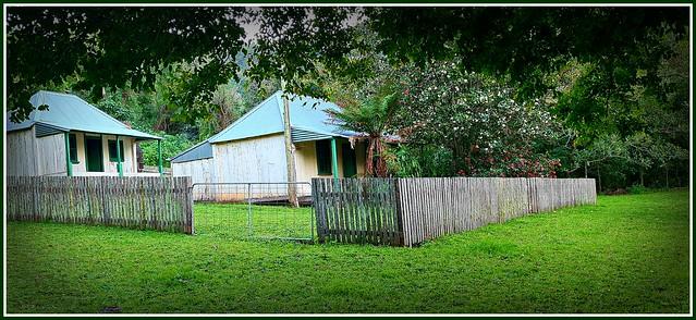 Abandoned farmhouse at Minnamurra (Curramore)