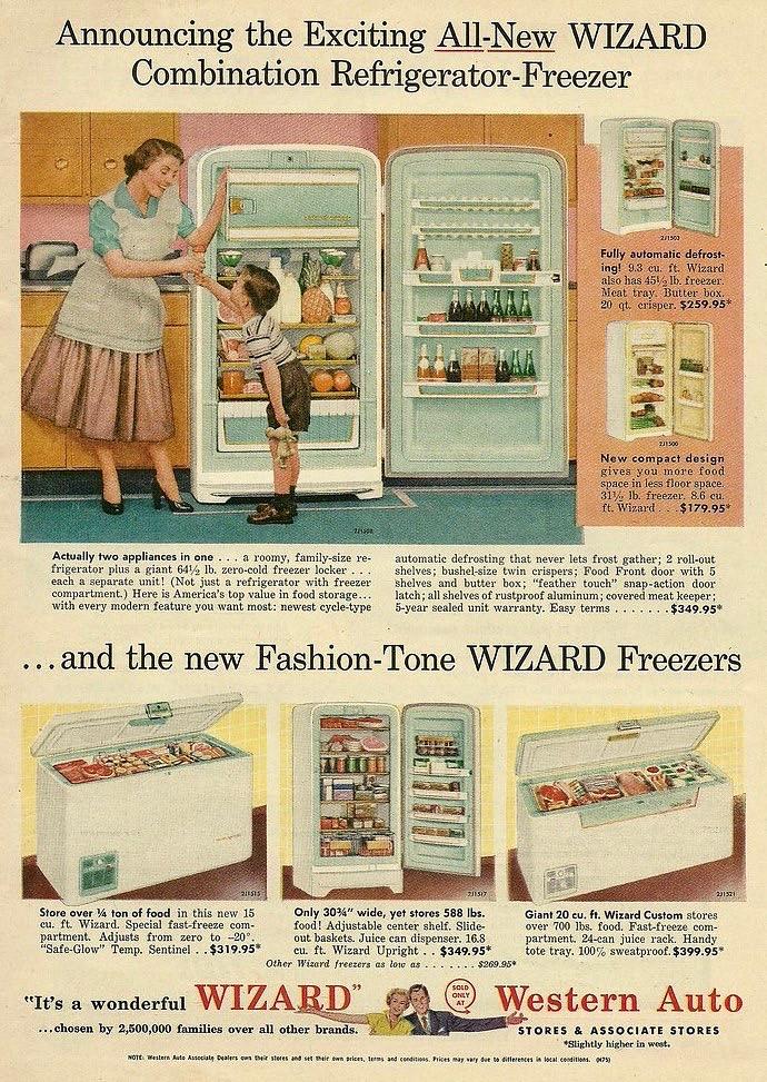Western Auto, Wizard 1955