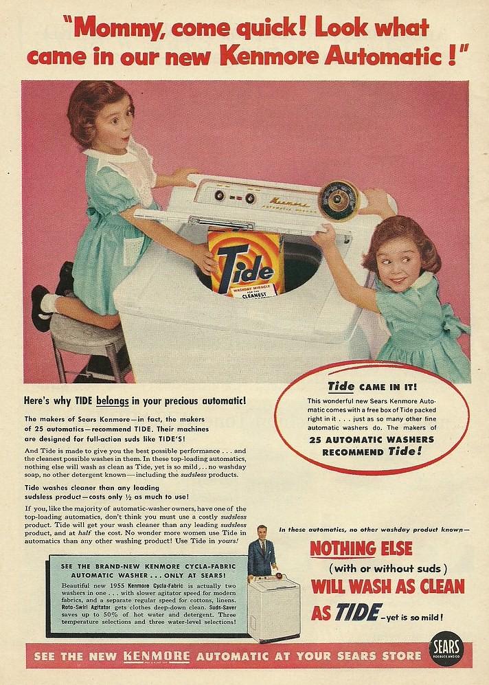 Sears, Kenmore 1955
