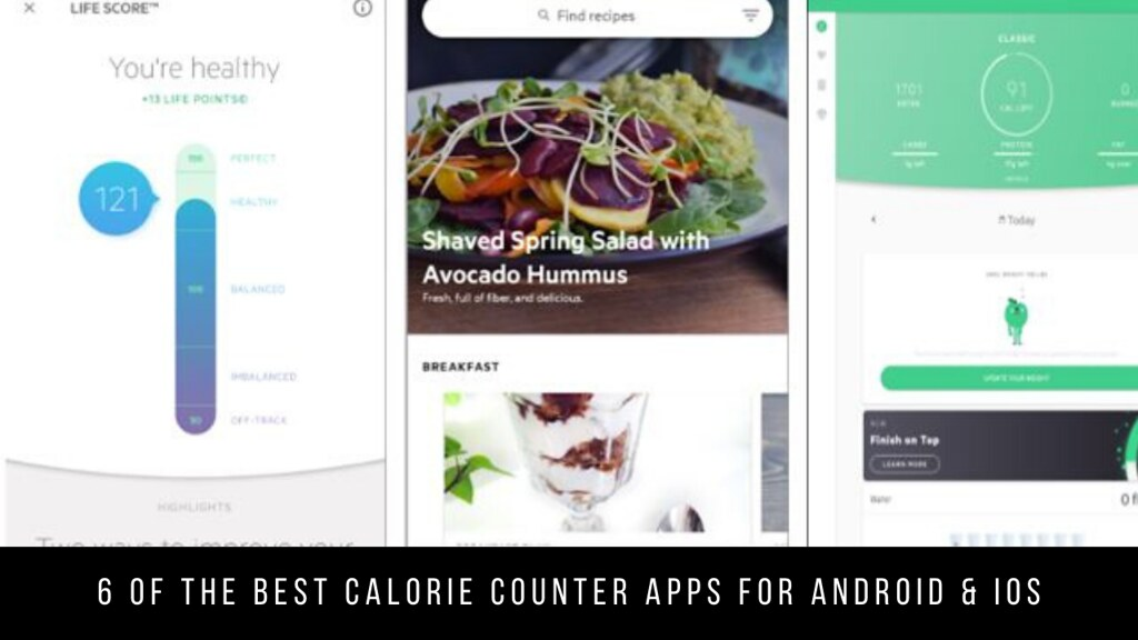 6 Of The Best Calorie Counter Apps For Android & iOS