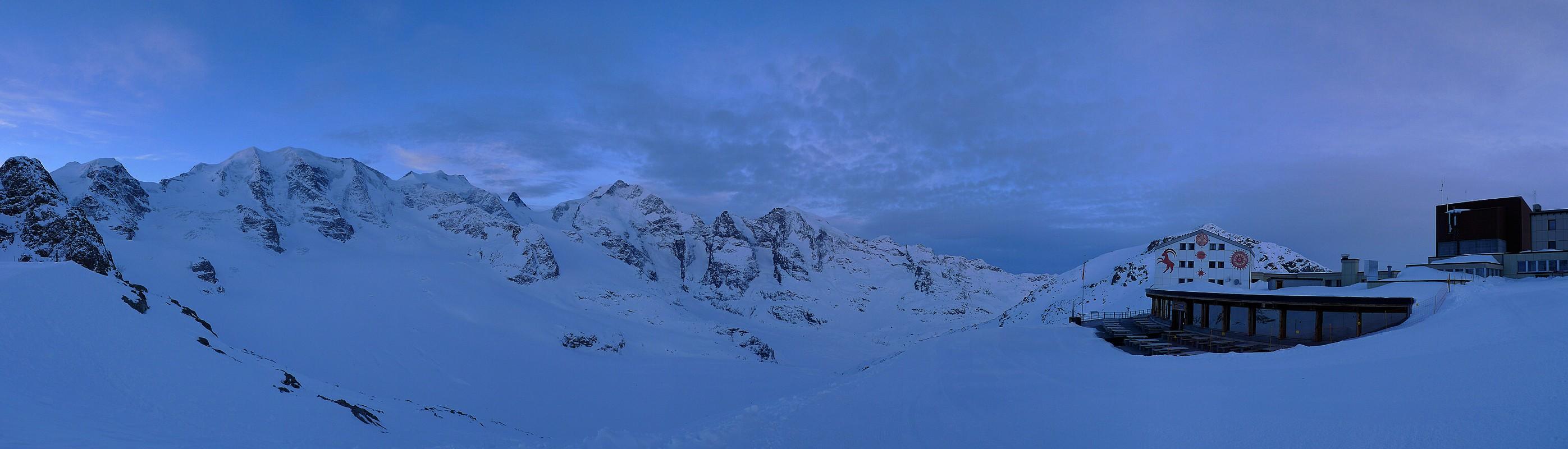 Piz Palü Bernina Switzerland panorama 07