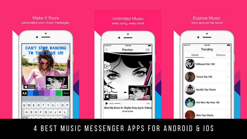 4 Best Music Messenger Apps For Android & iOS