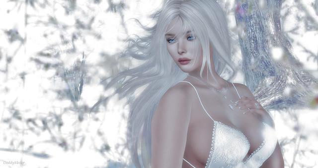 Portrait in White
