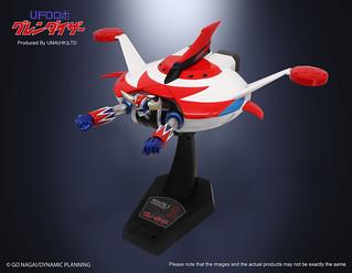 來自金剛星的守護魔神!UMA LIMITED《克連泰沙》LED發光飛行造型立體化人形(UFOロボ グレンダイザー 飛行ポーズフィギュア)