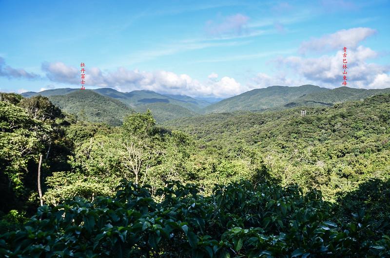 199縣道西望群山,左前為牡丹富士山 (2)