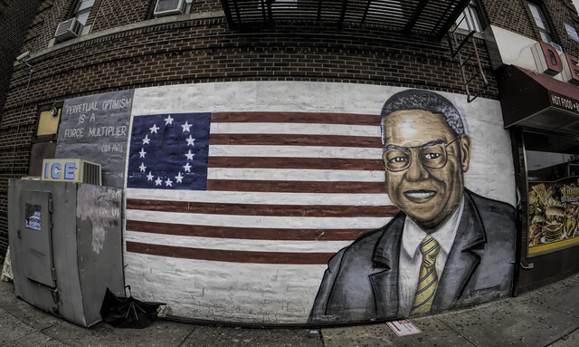 Colin Powell Mural