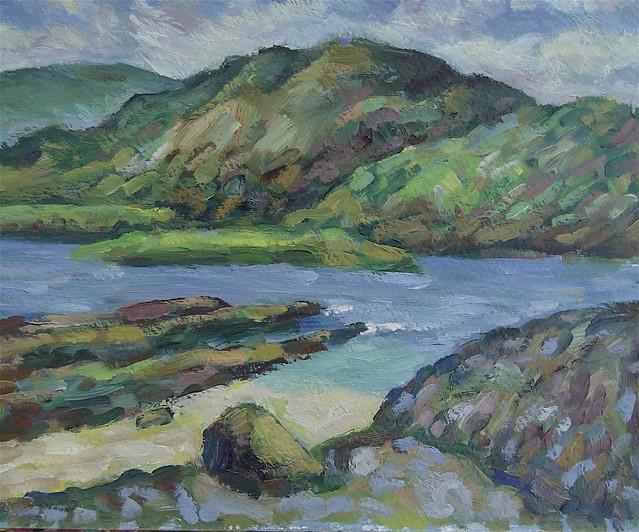 Idea for a Landscape-a memory of Scotland