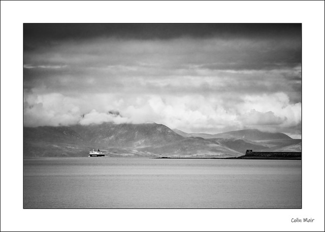Over to Arran - (Sigma 100-300mm, f8) - 2020-07-09th