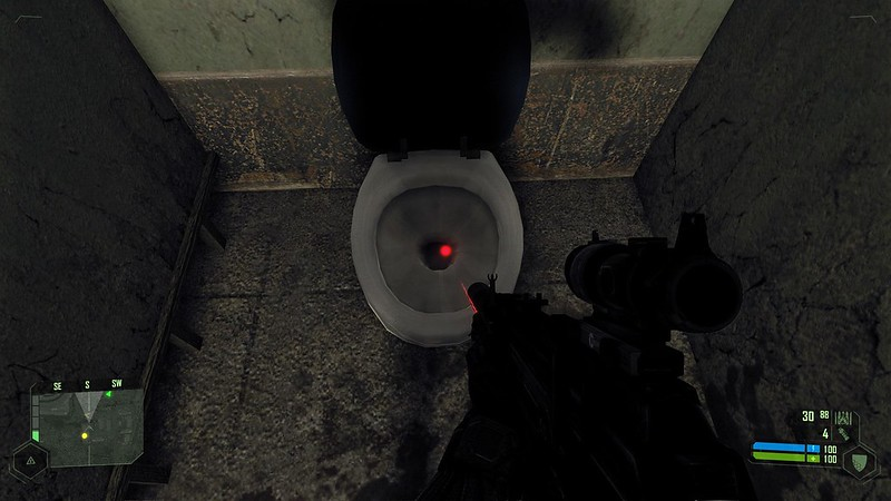 Crysis - Ultra Settings - These Toilets Are Clean