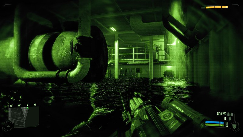 Crysis - Ultra Settings - Night Vision