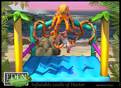 EDEN-Inflatable castle of Hector