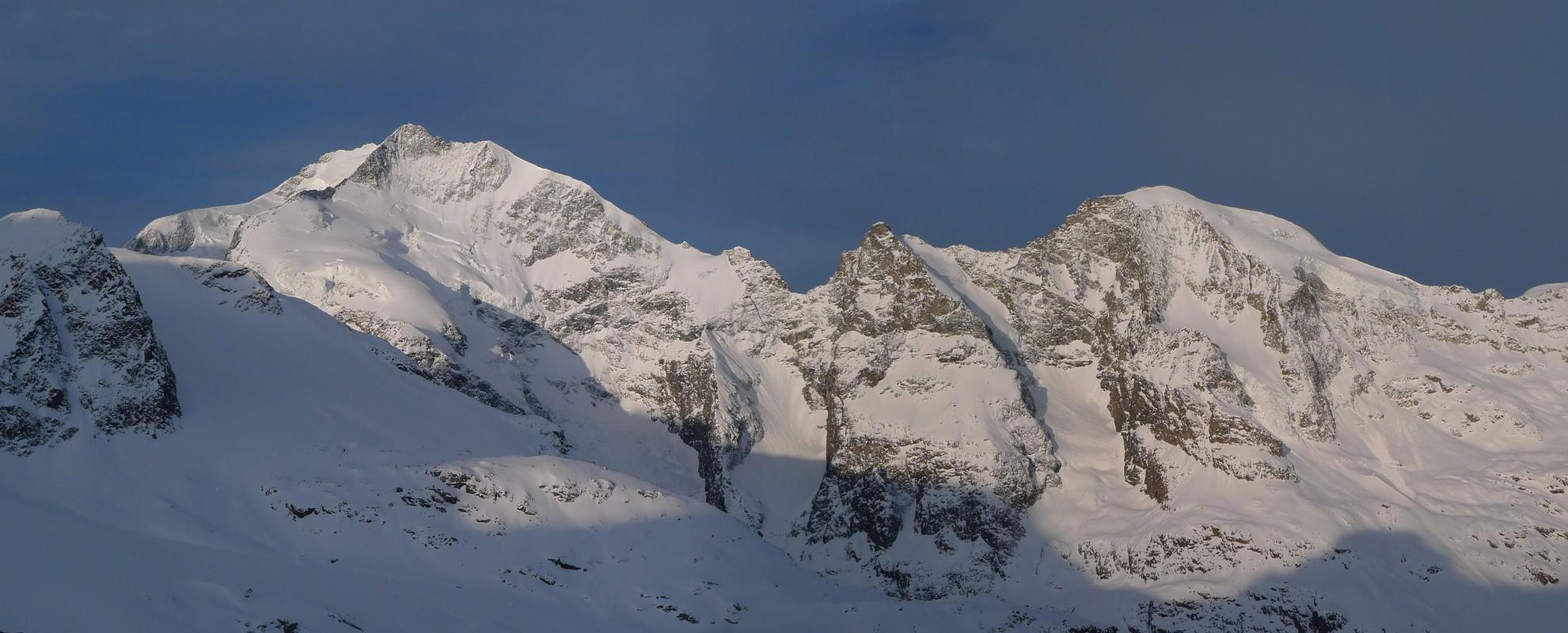 Piz Palü Bernina Switzerland panorama 01