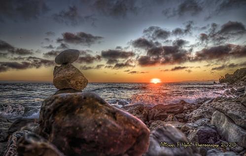 sunset bluffcove clouds palosverdespeninsulacalifornia palosverdesestates pacificocean golden