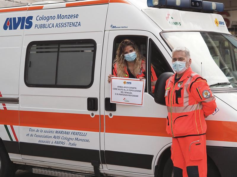 Due ambulanze Anpas per il Senegal