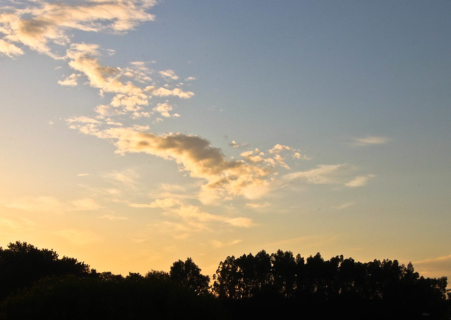 ciel de juillet