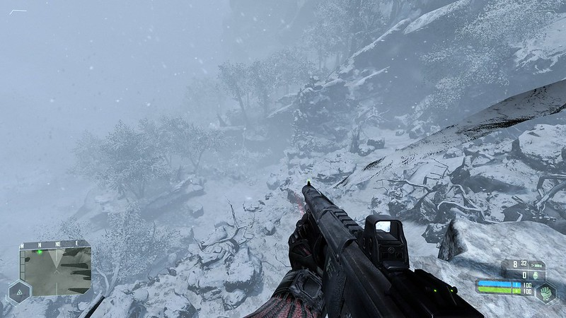 Crysis - Ustawienia Ultra - Winter Wonderland