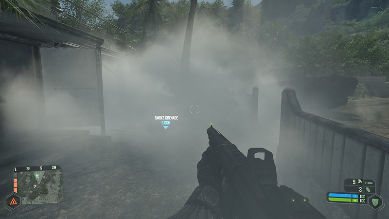 Crysis - Ultra Settings - kouřový granát