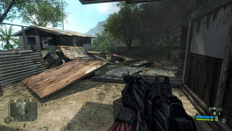 Crysis - Configurações Ultra - Casa Destruída