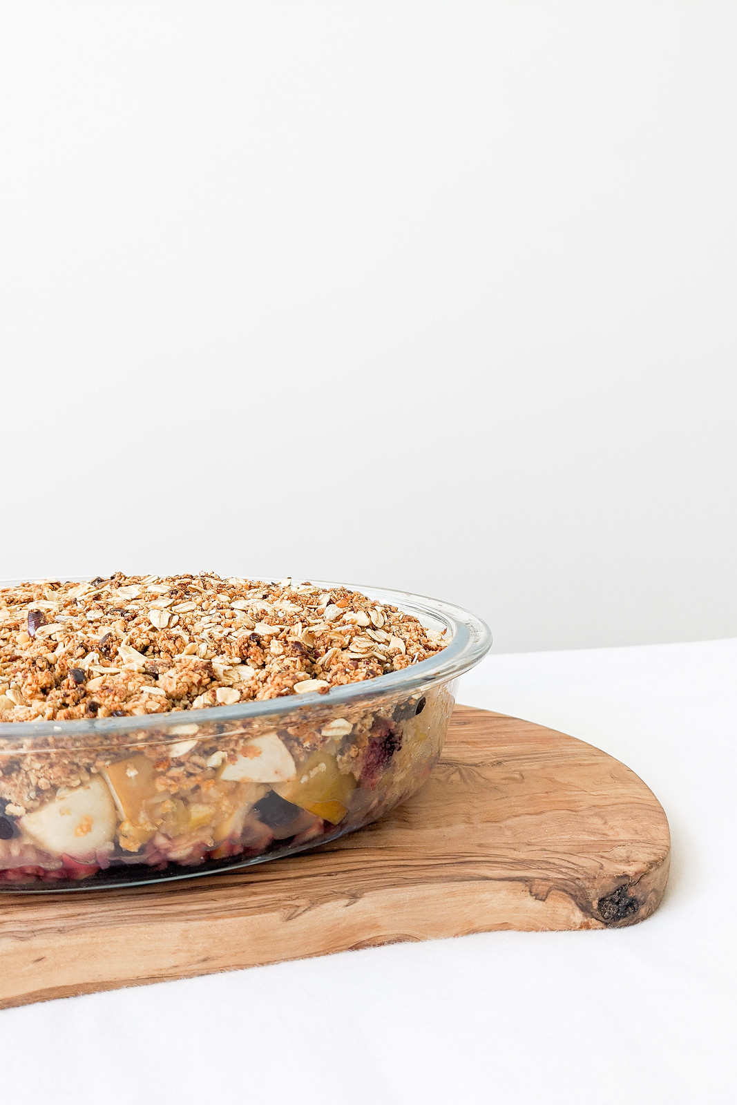 A Recipe For Fruit Crumble