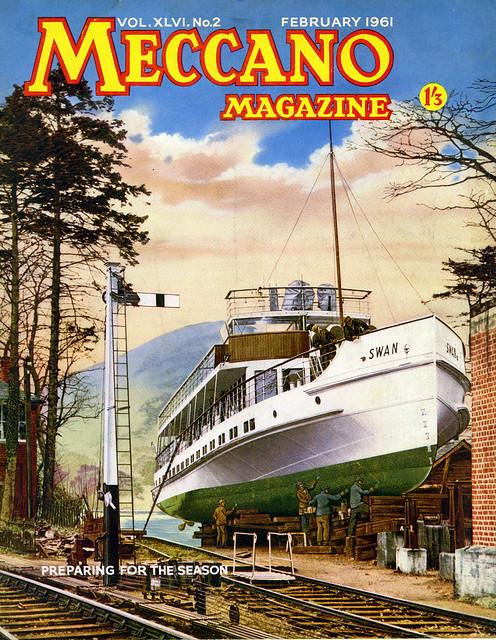 Meccano Magazine February 1961 MV Swan, Windemere