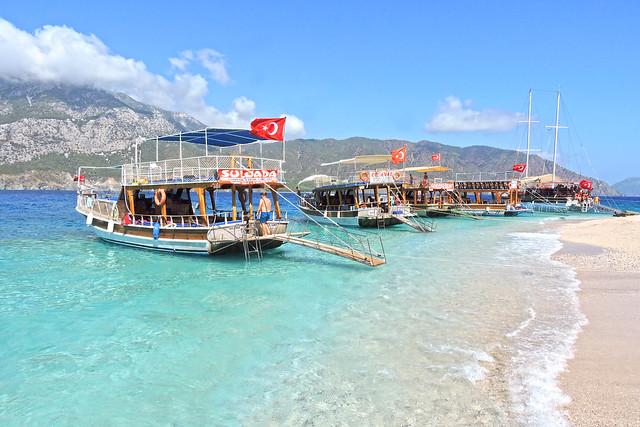 Maldives in Turkey(Türkiye Maldivleri) Yusuf Kaptan Tekne Turu
