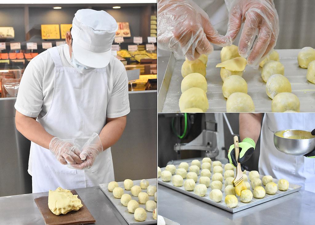 台中 月餅推薦 菠蘿蛋黃酥 一福堂42