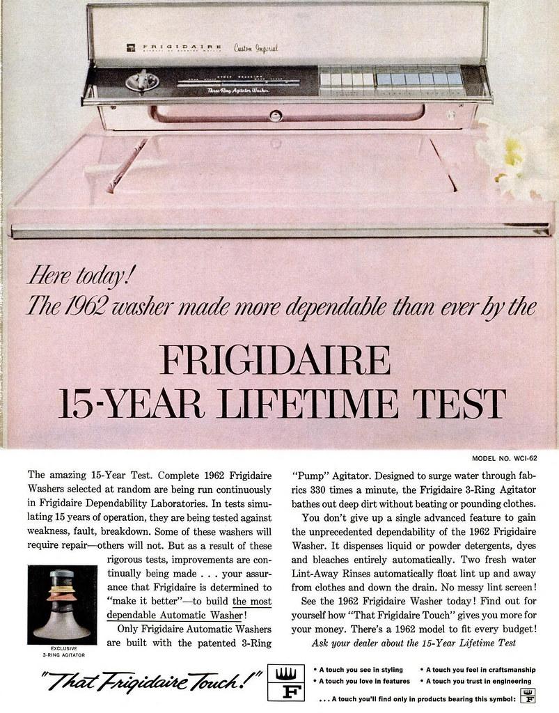 Frigidaire 1962