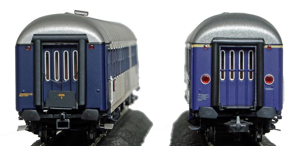 Vergleich Kopfansicht Halbspeisewagen Ep. IIIa und IIIb