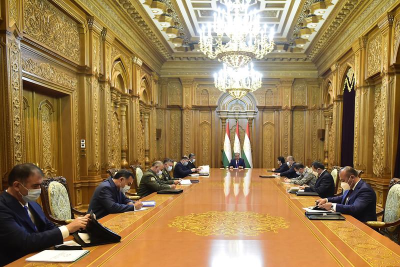 Ҷаласаи Шӯрои амнияти Ҷумҳурии Тоҷикистон 21.07.2020