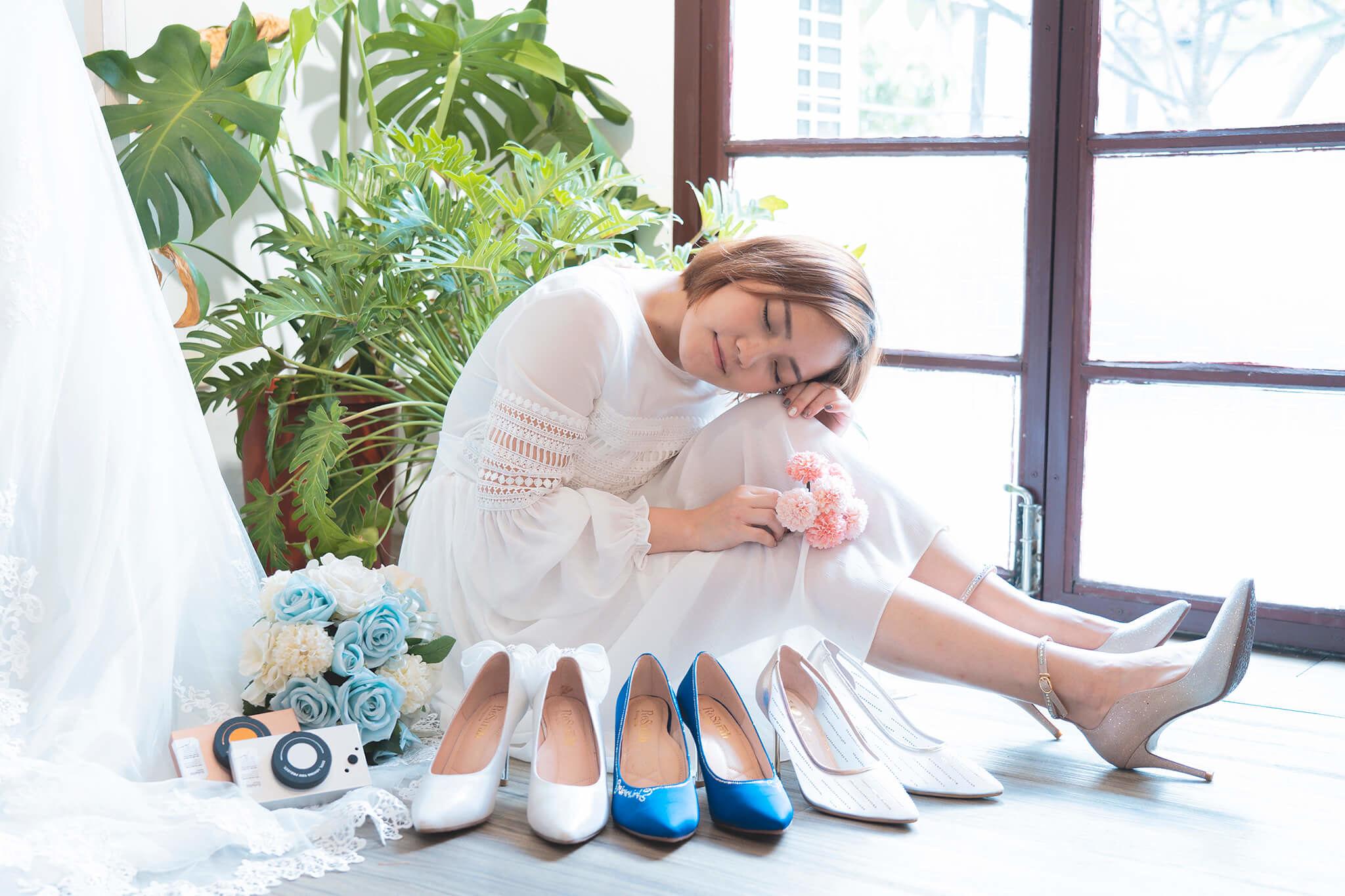 專屬婚紗鞋 婚鞋推薦 訂製婚鞋 ReSarah 時尚手作婚紗鞋