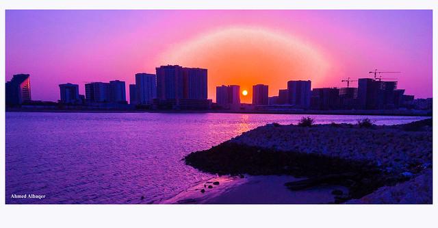 Summer sea sunrise  شـــروق بحـــري صيفي