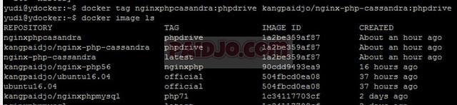 Push Image to Docker Hub  - paidjo.com