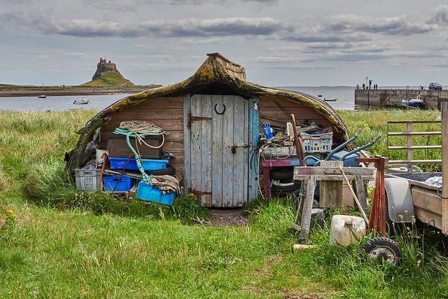 Lindisfarne boatshed - again (2020)