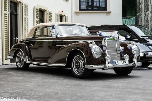 1956 Mercedes-Benz W188 300SC Cabriolet